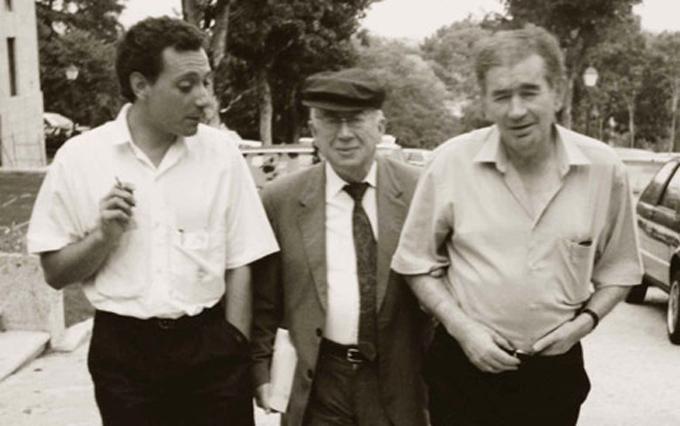 Juan Carlos Mestre- Gonzalo Rojas-Antonio Gamoneda