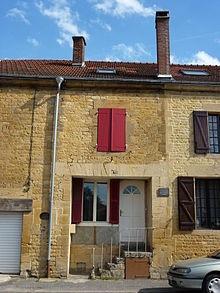 Casa en Boulzicourt, Ardenas, donde Daumal nació.